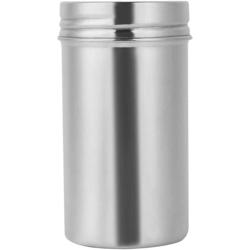 Bares - Récipient de Stockage scellé d'acier Inoxydable 304 de Grains de café de thé portatifs de récipient étanche à l'humidité et antibactérien de