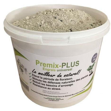 Recipiente universal para abono Premix-plus 500G - Cuerno asado y base de sangre de aves de corral secas