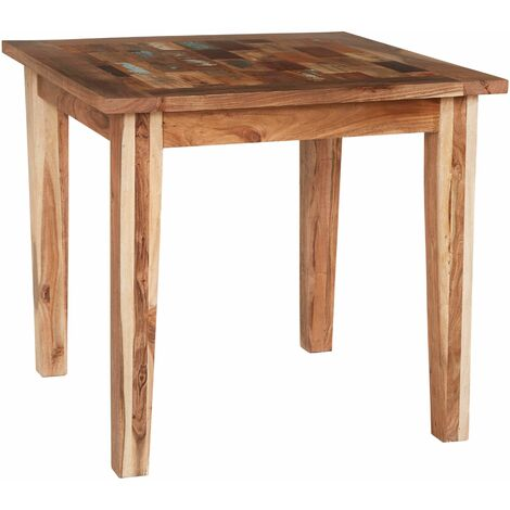 """main image of """"Reclaimed Boat Small Dining Table - Multicolour"""""""
