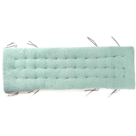 Recliner Cushion Office Non Slip Cotton Chair Cushion 160x50x12cm Water Blue
