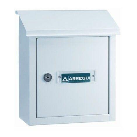 Recogecarta Buzon Arregui Aluminio Blanco V-4091