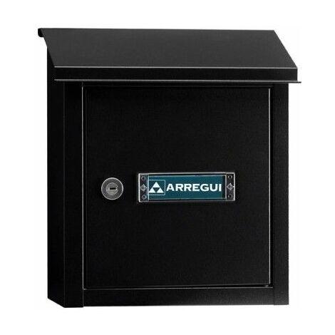 Recogecarta Buzon Arregui Aluminio Negro V-4094