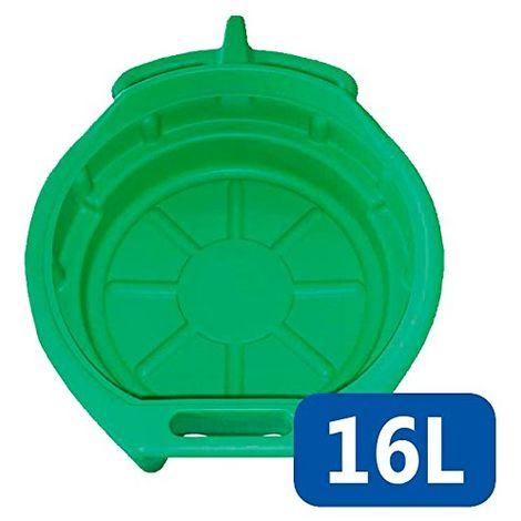 SATKIT Bandeja De Plastico Negra Recogedora Vaciado de Aceite 10 litros Car Tools