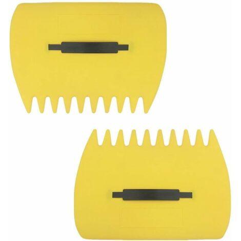 Recogedores de hojas LITZEE Recolección manual grande, recolección de hojas, césped, cortes de césped al instante, rápido y fácil