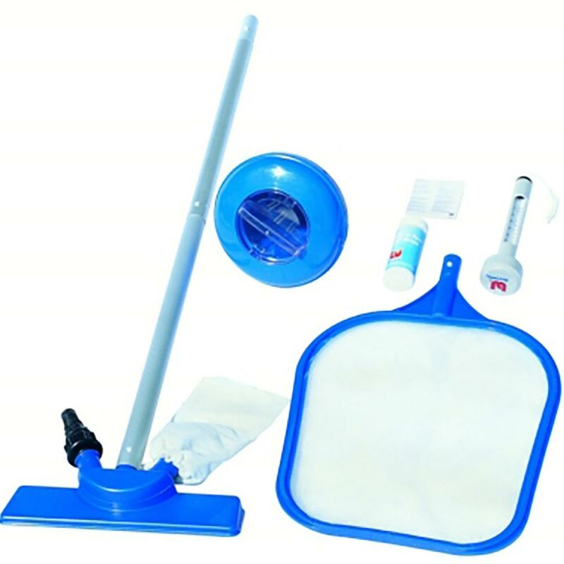Recogehojas piscina multifuncion kit mantenimiento bestway 58195/58133