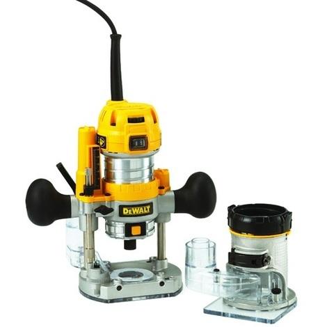 Reconditionné DeWalt - Défonceuse multi fonction 900 Watts 8mm - D26204K