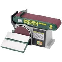 "RECORD BDS150 6"" x 4"" Belt & Disc Sander"