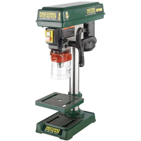 """RECORD DP16B Bench Drill with 13"""" Column and 1/2"""" Chuck"""