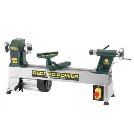Record Power 15001 DML250 Cast Iron Mini Lathe 10in