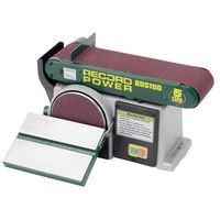 "Record Power BDS150 Belt & Disc Sander 6""x4"""