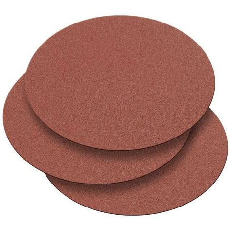 Record Power DMD/7G2 250mm 80 Grit 3 Pack of Self Adhesive Discs