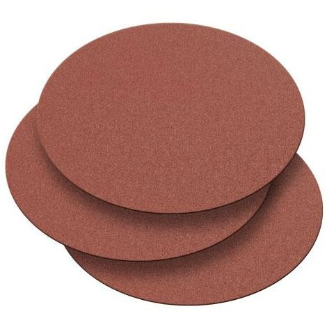 Record Power DMD/7G3 250mm 120 Grit 3 Pack of Self Adhesive Discs