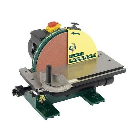 Record Power DS300 Cast Iron Disc Sander 305mm 12in