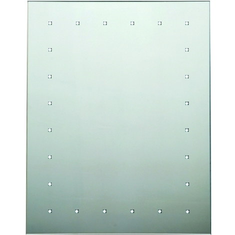 Rectangle Battery Operated 24 Light Mirror 500 x 650mm
