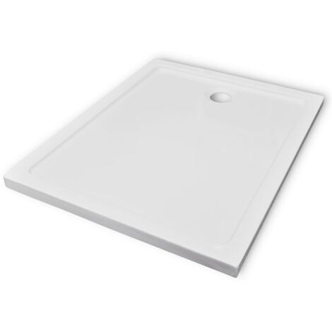 Rectangular ABS Shower Base Tray 80 x 100 cm