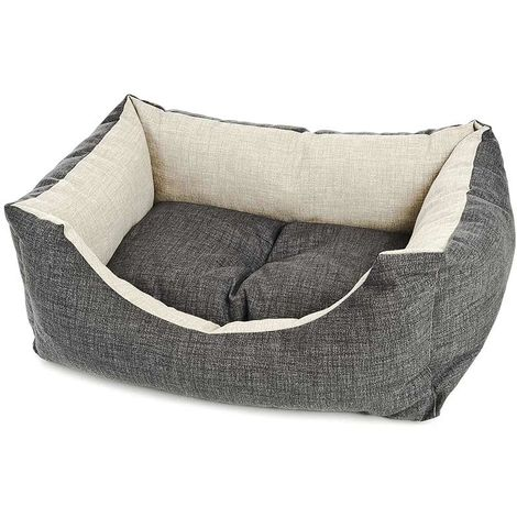 Rectangular couchettes model Cool Grey for dogs and cats Ferribiella
