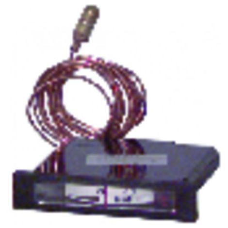 Rectangular, horizontal dial thermometer 20° +120°