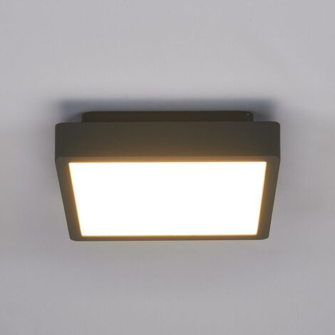 Rectangular LED outdoor ceiling light Talea