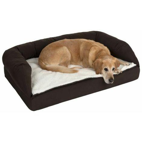 Rectangular orthopedic dog bed