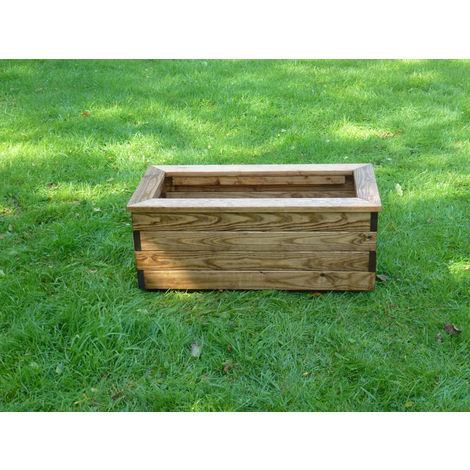 Rectangular Planter Fully Assembled