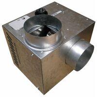 Récupérateur de chaleur cheminair 400 m3/h - 65w unelvent.