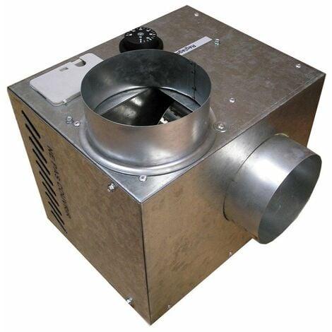 Récupérateur de chaleur cheminair 600 m3/h - 100w unelvent.