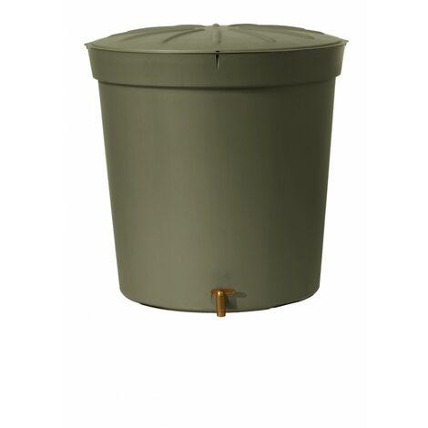"""main image of """"Récupérateur d'eau aérien GARANTIA cylindrique taupe , 300 l"""""""