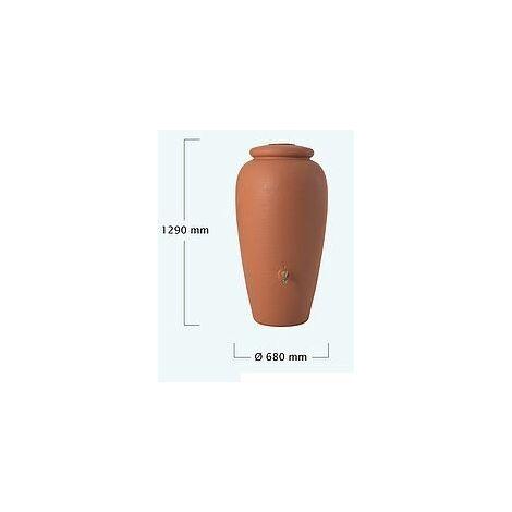 Récupérateur d'eau Amphore Terracotta Graf - 300 L ou 500 L