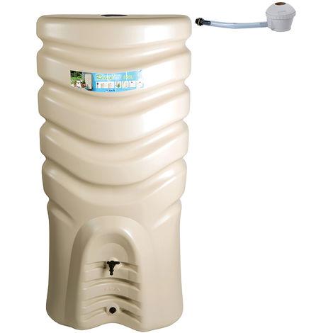 Récupérateur d'eau de pluie 550 L RECUP'O + Kit Collecteur - Eda