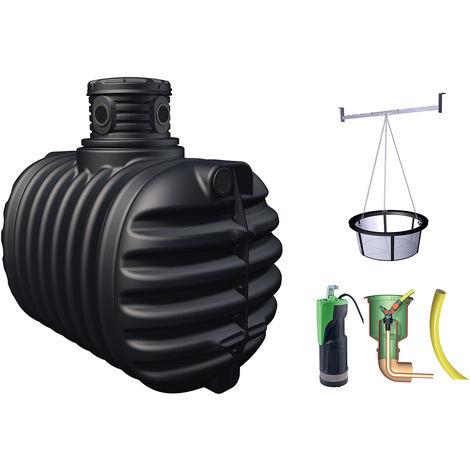 Récupérateur d'eau de pluie à enterrer 2650 L