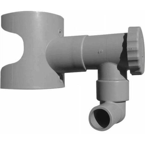 Récupérateur d'eau pour gouttière circulaire Sable
