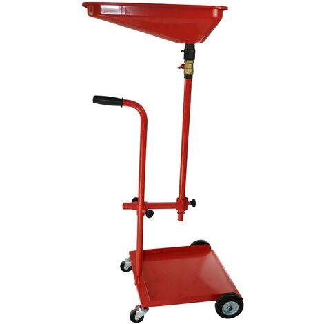 Récupérateur d'huile de Vidange Mobile Chariot Récupération d'huile usées Récupération Huiles Nettoyage