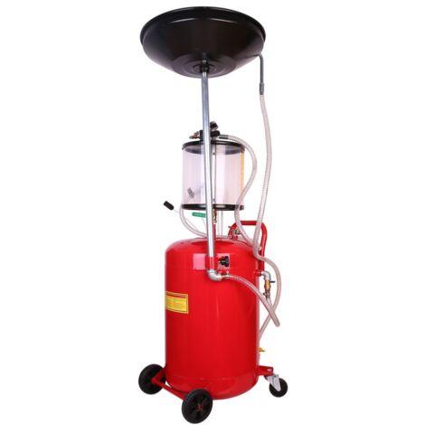 Récuperateur d'huile par aspiration ou gravitation 68L