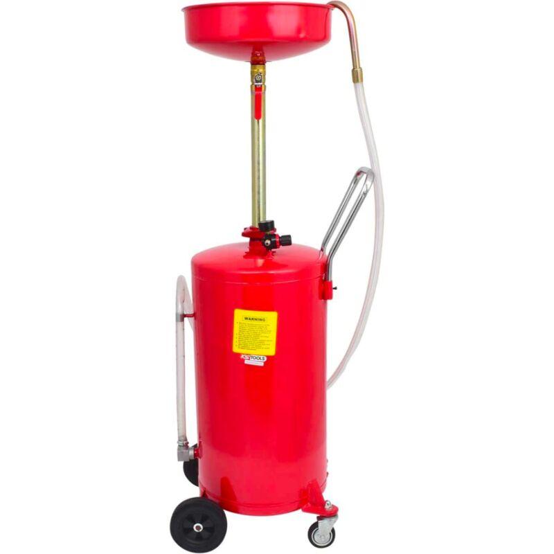 Kstools - Récupérateur d'huile par gravité 65 L - KS TOOLS
