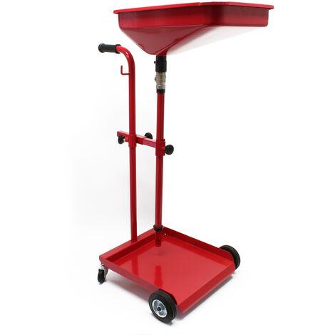 Récupérateur d'huile Vidange Mobile Chariot Récupération d'huile usées Récupération Huiles Nettoyage