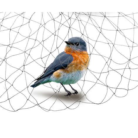Red anti-pájaros Cultivos Protección de estanques Frutas Verduras Malla antiparasitaria 5X10M
