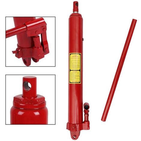 "main image of ""8 Ton Long Ram Hydraulic Jack Manual Arm Replacement Engine Lift Crane"""