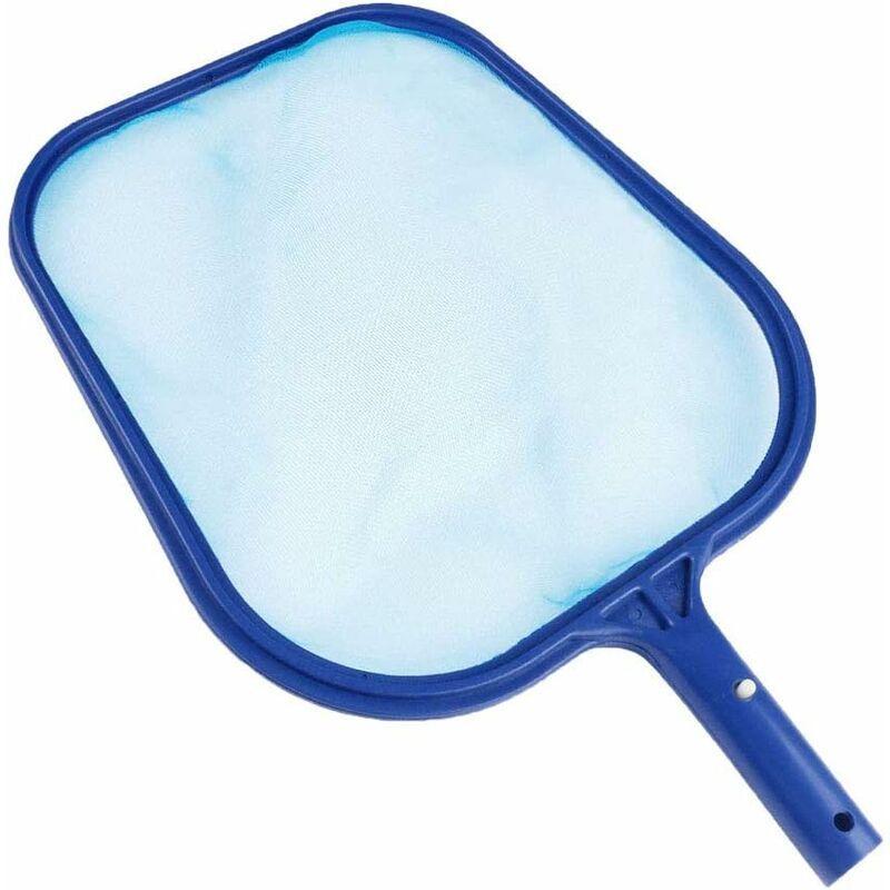 Red de hojas LITZEE para skimmer de piscina, para piscina, bañera, fuente, pecera, elimina todos los desechos azul