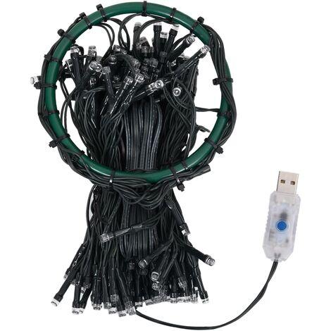 Red de luces para árbol de Navidad con 250 LEDs IP44 250 cm