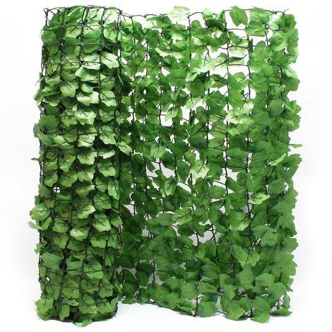 Red de protección de la visibilidad Óptica de la hoja 300 cm x 100 cm Cubierta de pared Protección de la visibilidad