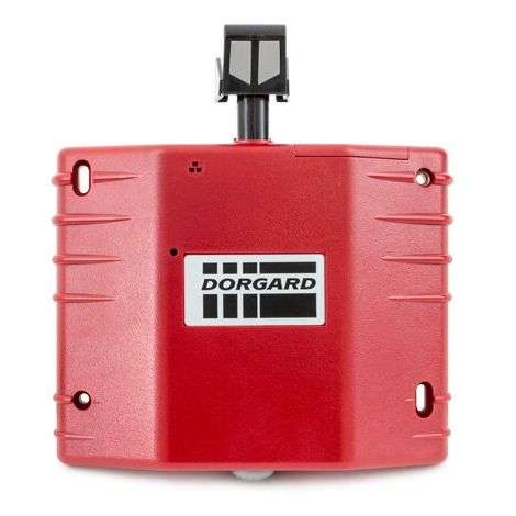 Red Dorgard Fire Door Holder