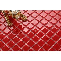 Red Glass Mosiac Feature Walls Borders Splashbacks Mosaic Tiles MT0022