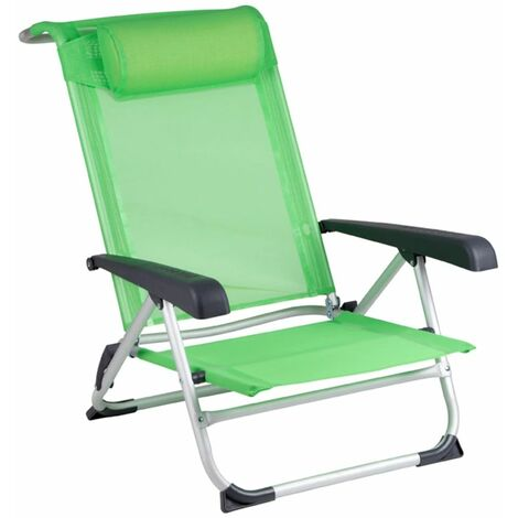 Vert Chaise Aluminium 1204794 Mountain De Red Plage O0nwPk