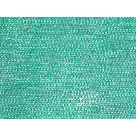Red para andamio de 150g/m² triangular para chorro de arena, Verde de 3m x 25m