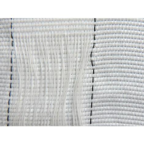 Red para andamio tejida de 130g/m² - Ignífuga - Tejida Blanca de 2,57m x 50m