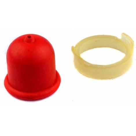 Red Petrol Fuel Primer Bulb Fits Most Briggs And Stratton Quantum Engine
