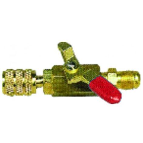 Red valve M1/4? x F1/4? - GALAXAIR : SA-14M14F-R