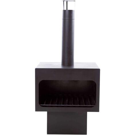 RedFire Cheminée Jersey XL Acier Noir 81076