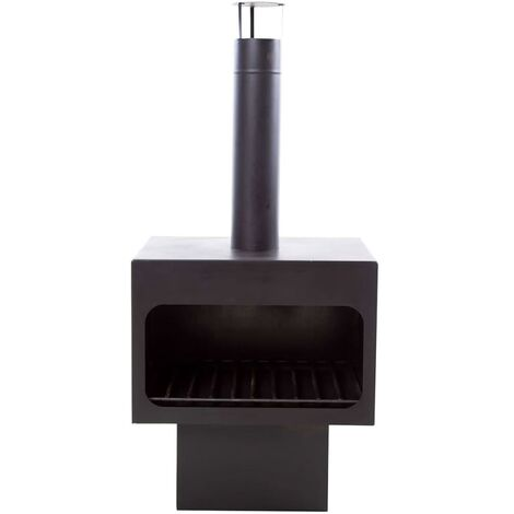 "main image of ""RedFire Chimenea Jersey XL acero negro 81076 - Negro"""