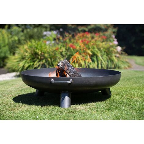 RedFire Fire Bowl Salo Black Steel 80 cm 81020